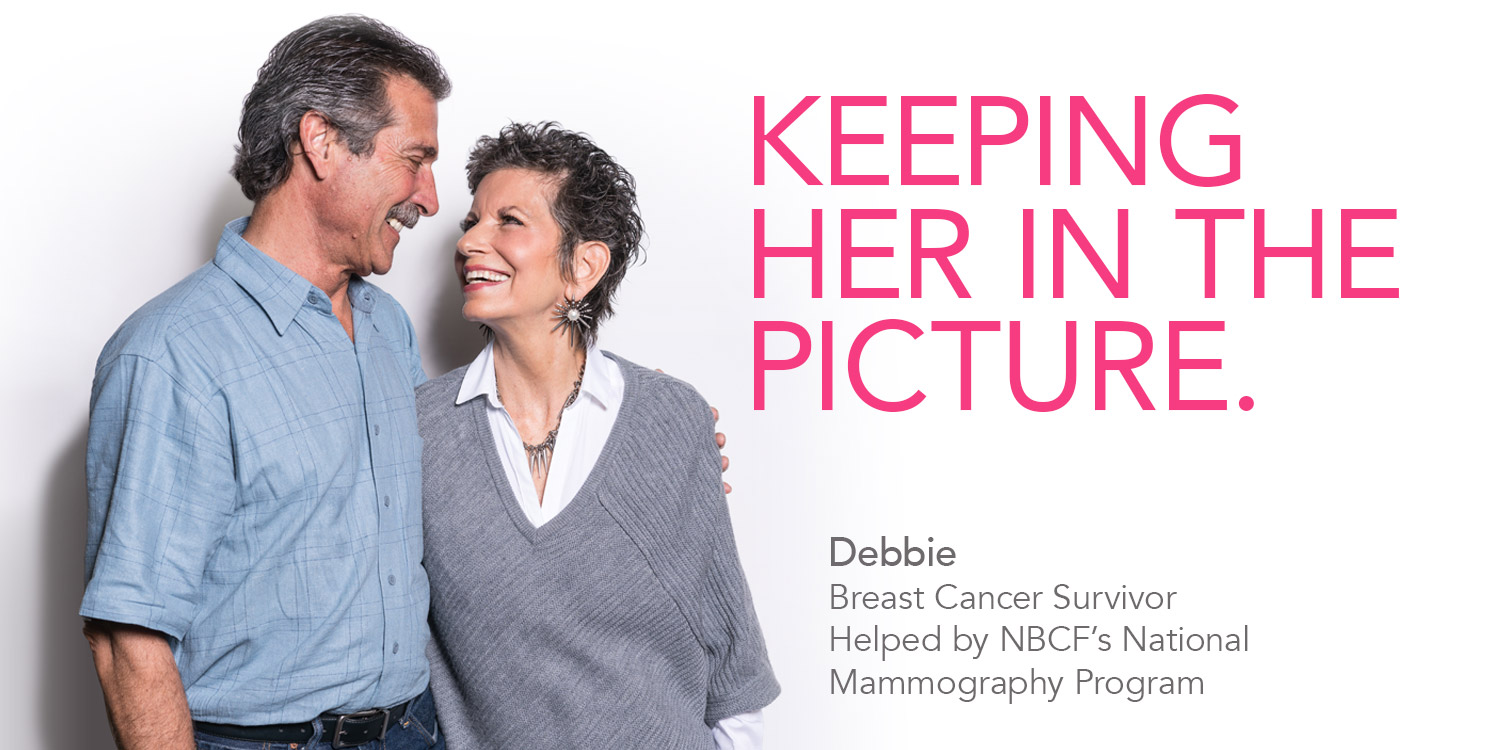 Breast Cancer Awareness Month - Keeping her in the picture